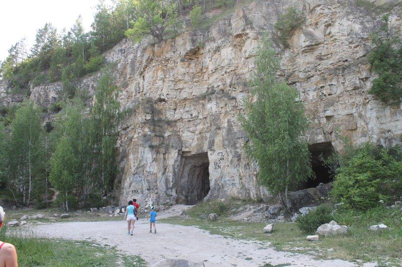 Ширяевские штольни в Жигулевских горах