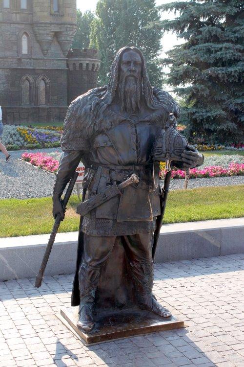 Скандинавский воин Беовульф