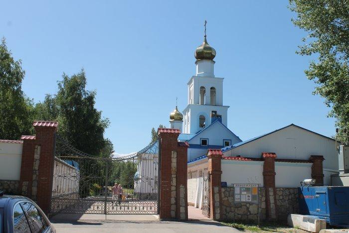 Храм в честь иконы Божией Матери «Неупиваемая Чаша»