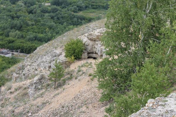 Вход первый в мышиную пещеру