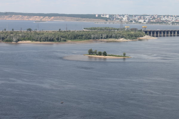 Вид на Комсомольский район г. Тольятти