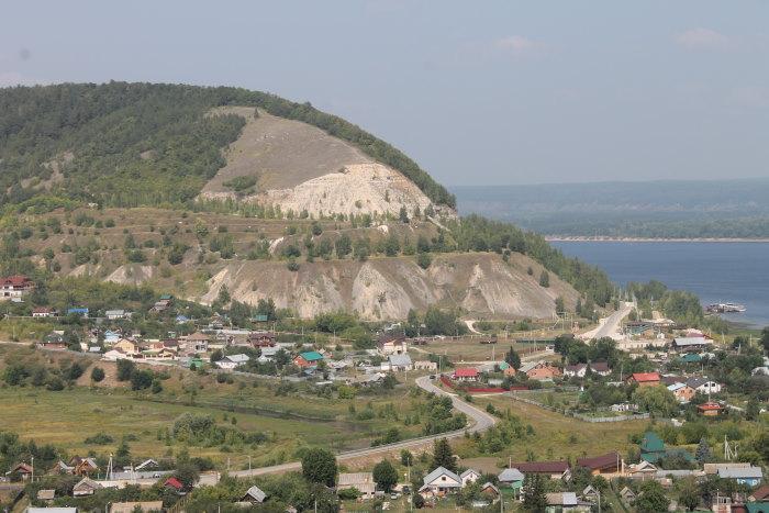 Вид на село Ширяево и Попову гору