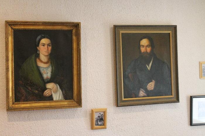 Портрет И. Вдовина и его супруги