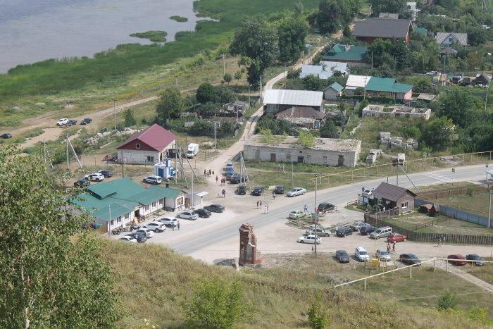 Вид на село Ширяево с Поповой горы