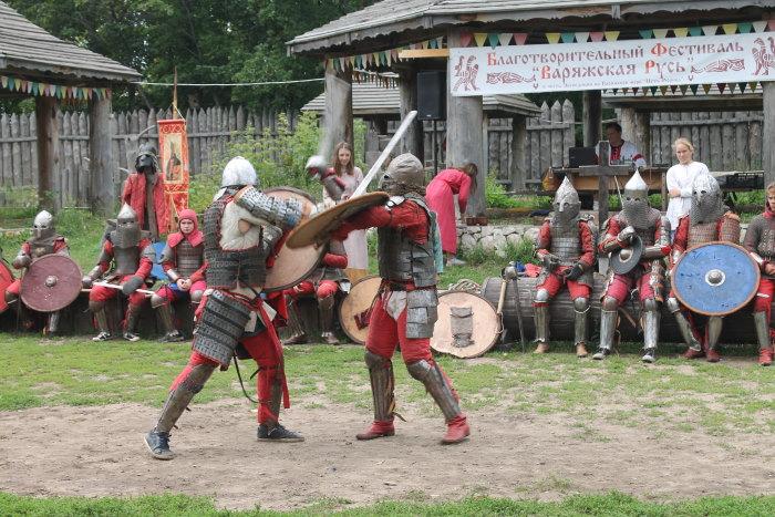 Сражение богатырей
