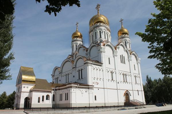 Кафедральный Спасо-Преображенский собор Тольятти