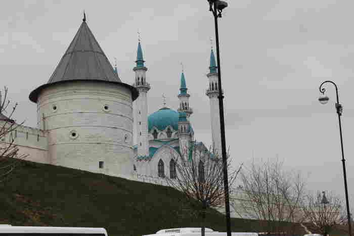 Стены Казанского Кремля