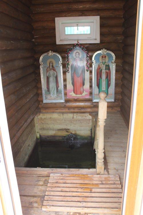Купель во имя святого преподобного Александра Свирского Чудотворца
