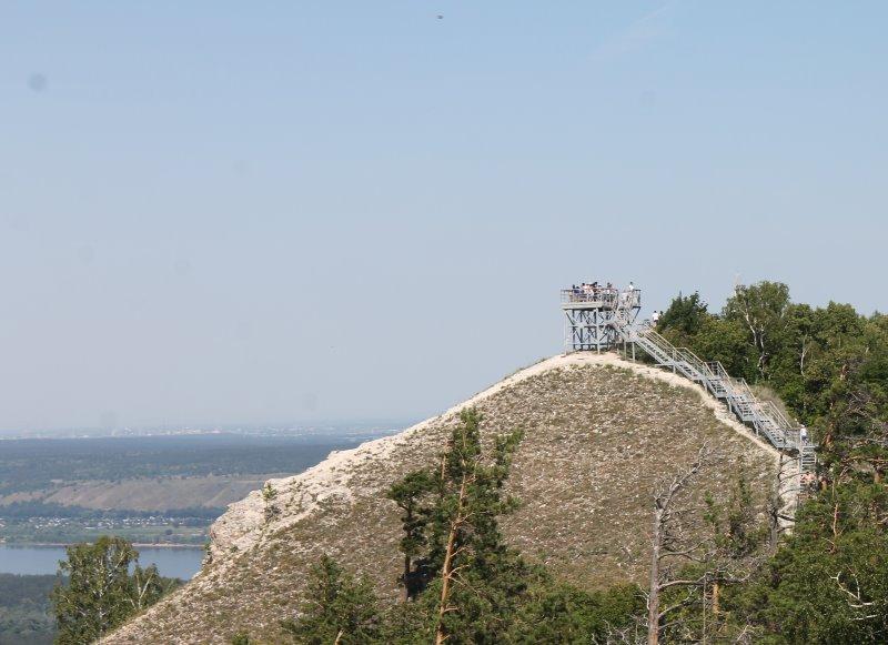 Смотровая площадка на горе Стрельная