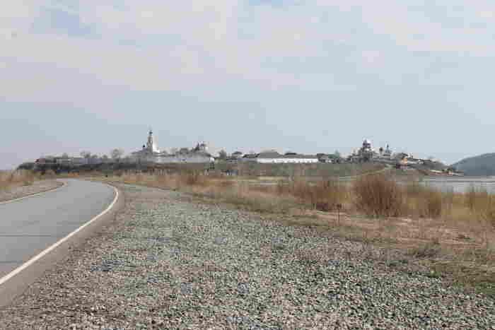 Дорога к остров-граду Свияжск