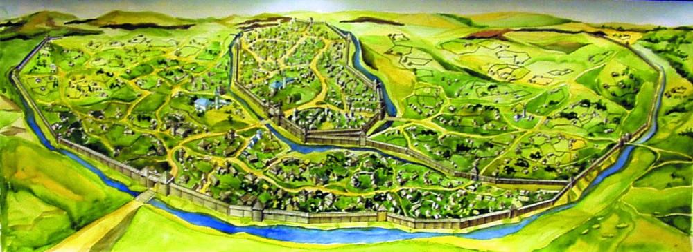 Муромский городок в XI-XII веков