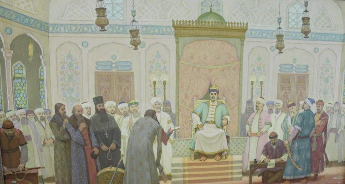 Волжская Булгария, во дворце