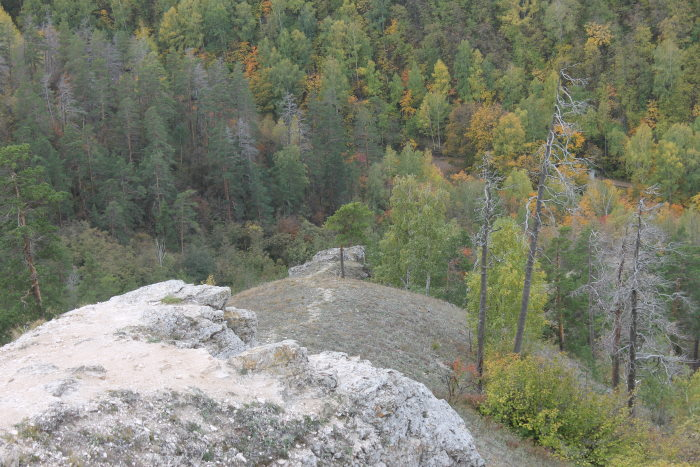 Пейзаж горы Стрельная