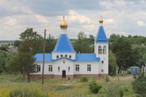 Церковь в селе Старая Бинарадка