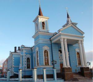 Католический храм Воздвижения Святого Креста