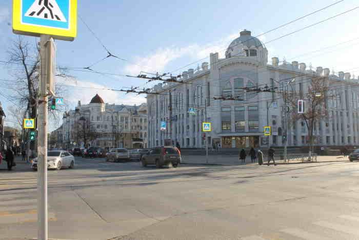 Здание Самарской филармонии