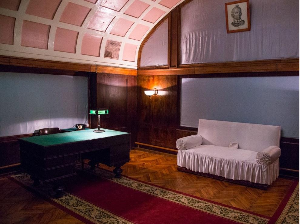 Комната отдыха Сталина
