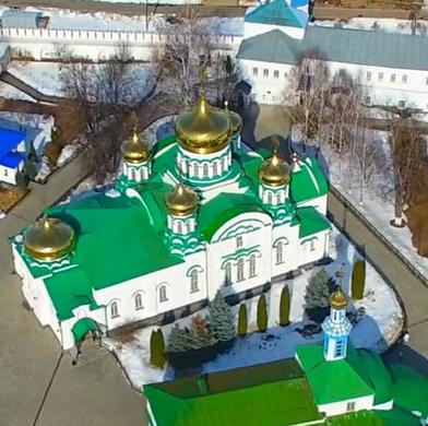 Собор Святой троицы, Раифский монастырь, Татарстан