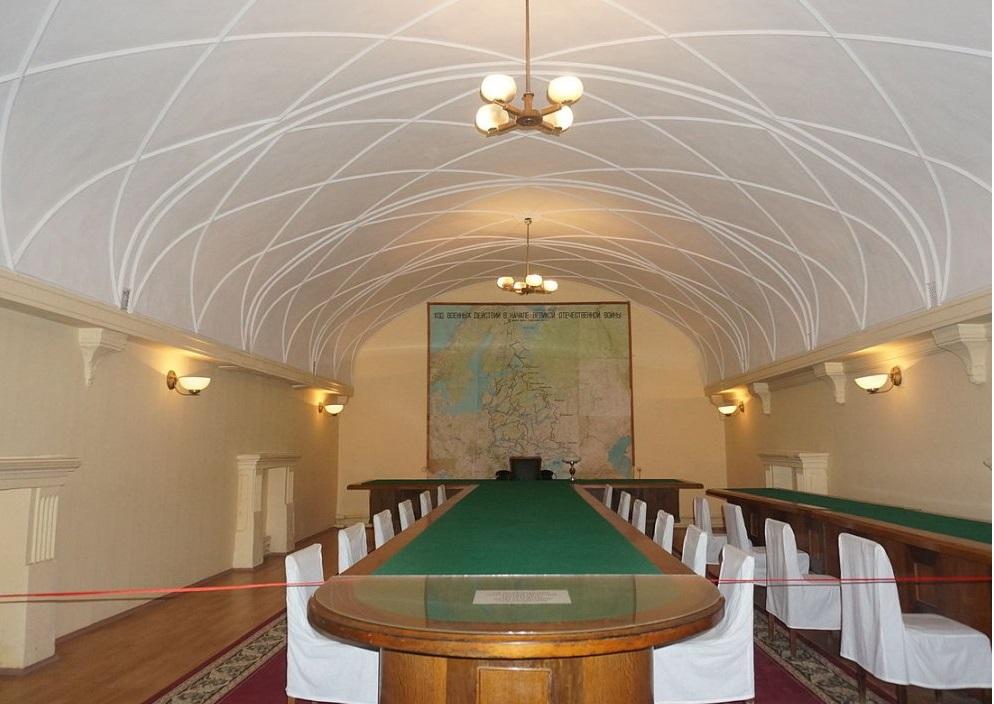 Зал для совещаний, бункер Сталина