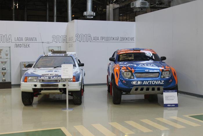 Спортивные машины АвтоВАЗа