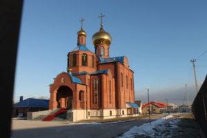 Храм в честь иконы Пресвятой Богородицы Спорительница Хлебов