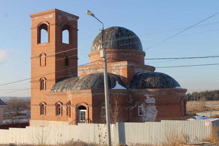 Строительство Храма в честь святого великомученника Дмитрия Солунского