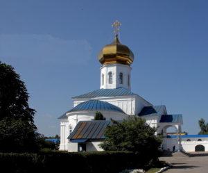 Вознесенский мужской монастырь города Сызрань
