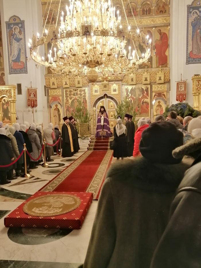 Епископ Тольяттинский и Жигулёвский Нестор совершил всенощное бдение