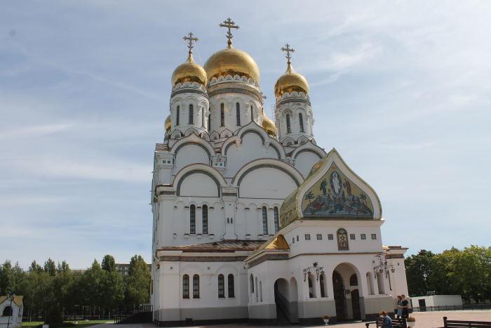 Свято-Преображенский кафедральный соборр г.Тольятти