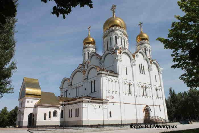 Свято-Преображенский кафедральный соборр г. Тольятти