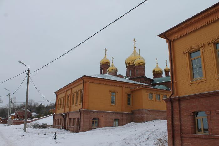 Свято-Воскресенский мужской монастырь в г. Тольятти