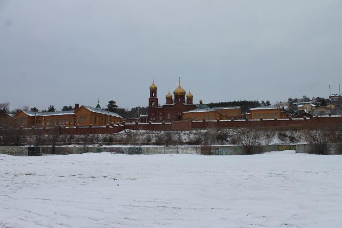 Воскресенский мужской монастырь г. Тольятти