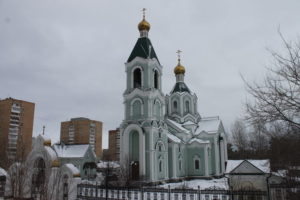 Храм во имя святителя Тихона, патриарха Московского и всея Руси в Комсомольском районе г. Тольятти