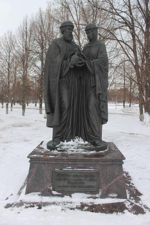 Князь Петр и княгиня Февронья Муромские
