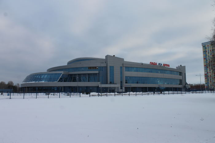 "ледовый дворец спорта ""Лада-Арена"""