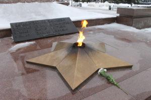 Вечный огонь в Тольятти