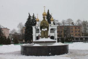 Скульптурная композиция «Николай Чудотворец»