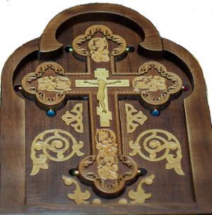 Святыня — Крест - мощевик