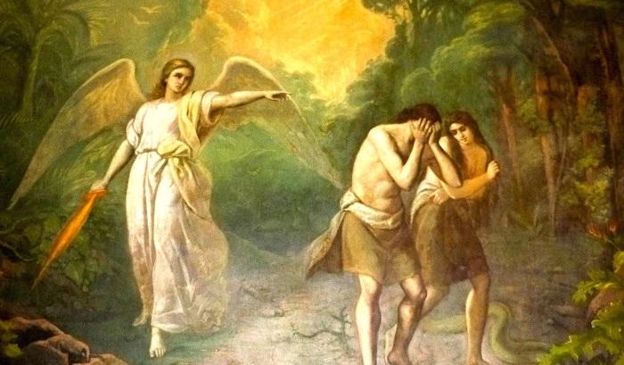 Грехопадение и изгнание Адама и Евы из рая