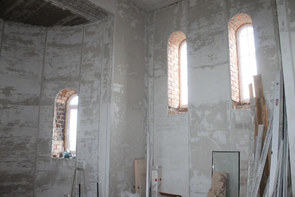 В храме во имя Святителя Николая Чудотворца село Подстепки