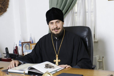 Ректор Поволжского православного института протоиерей Димитрий Лескин