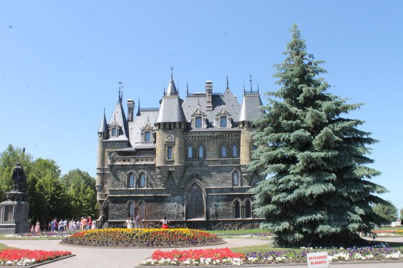 Замок Гарибальдив селе Хрящевка