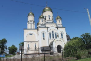 Современный храм Георгию победоносцу в селе Хрящевка