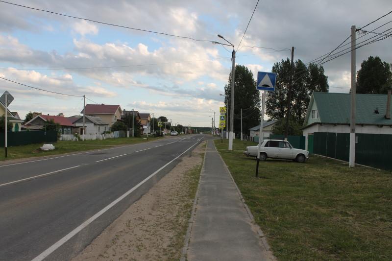 Улица села Бахилово