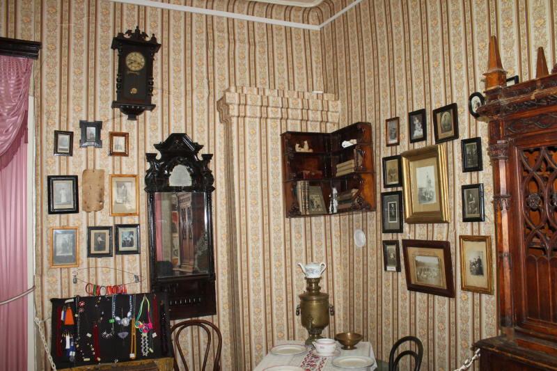 В музее истории Усольского края село Услье