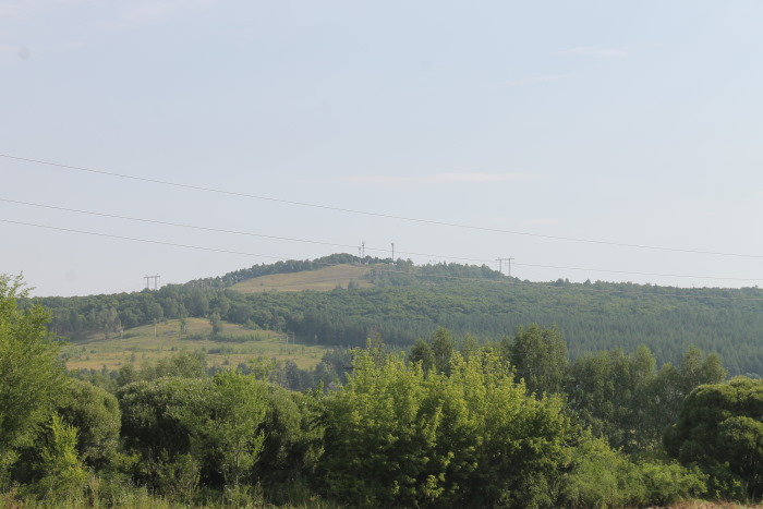 Вид на гору Светелка с южной стороны