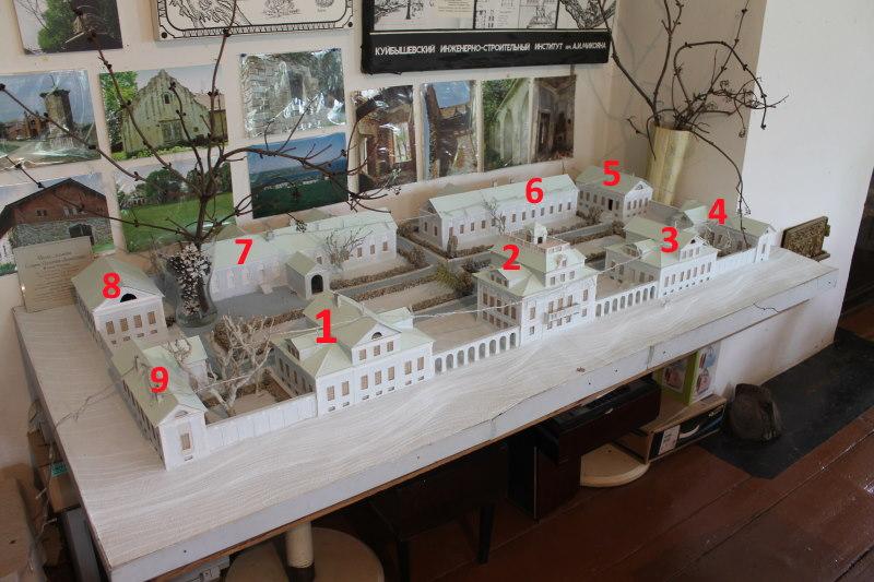 Усадьба графа Орлова - макет