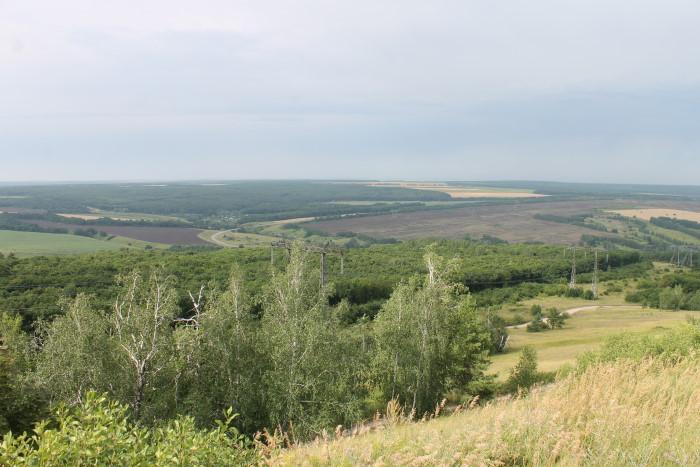 Вид с горы Светелка