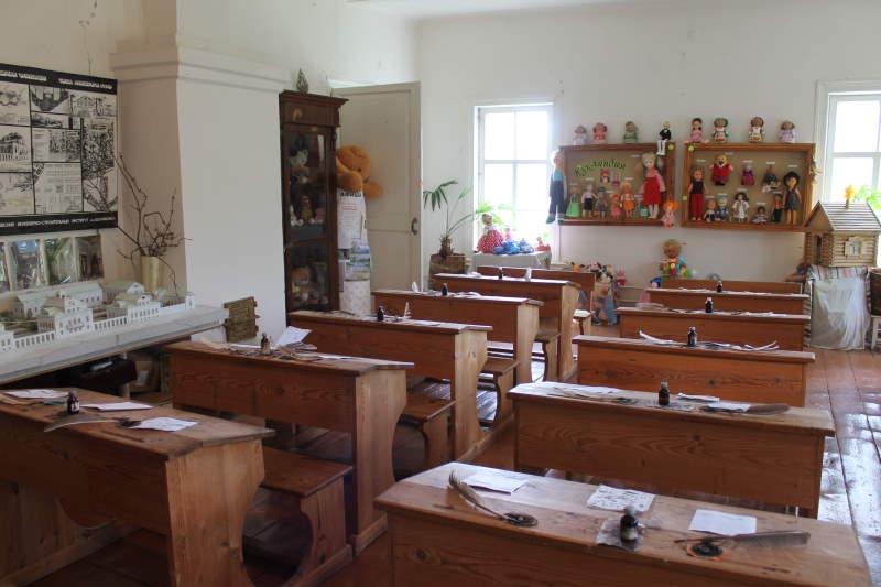 Учебный класс в Музее села Усолье