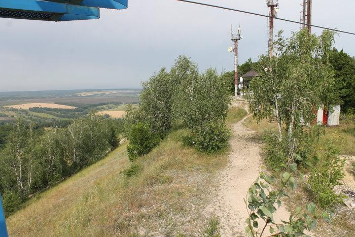 К вершине горы Светелка